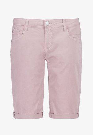 CHINO-BERMUDA - Denim shorts - light-rose