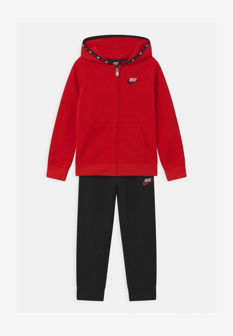 Nike Sportswear - SET UNISEX - Tracksuit - black