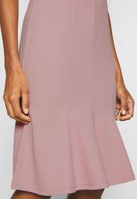 Anna Field - BASIC - V NECK MINI DRESS - Jersey dress - pale mauve - 5