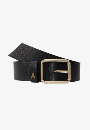 CINTURA VITA BASSA - Belt - nero/gold-coloured