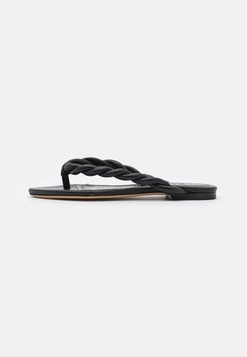 KERGUE - T-bar sandals - black
