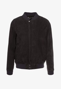 Editions MR - JEAN PAUL JACKET - Leather jacket - navy - 4