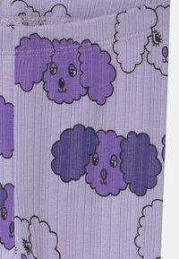 Mini Rodini - FLUFFY DOG UNISEX - Leggings - Trousers - purple - 2