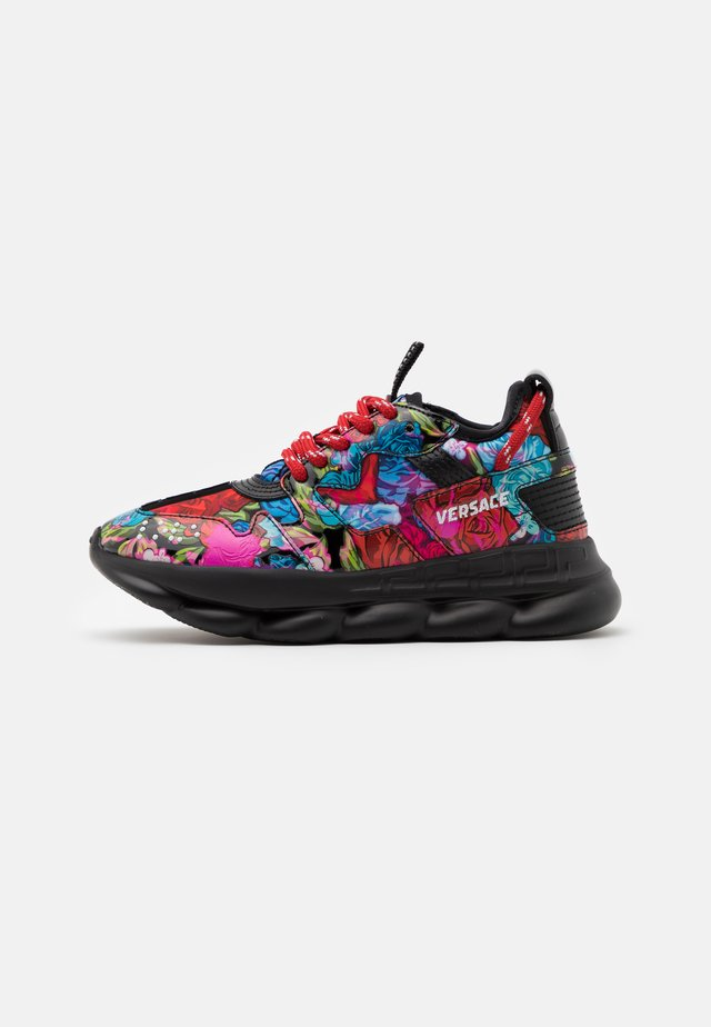 CHAIN REACTION 2 TIE DYE - Baskets basses - multicolor/black