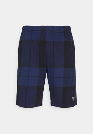 TARTAN PRINT - Short - atlantic blue