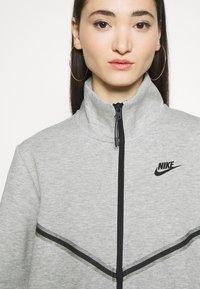 Nike Sportswear - Cardigan - dark grey heather/black - 3