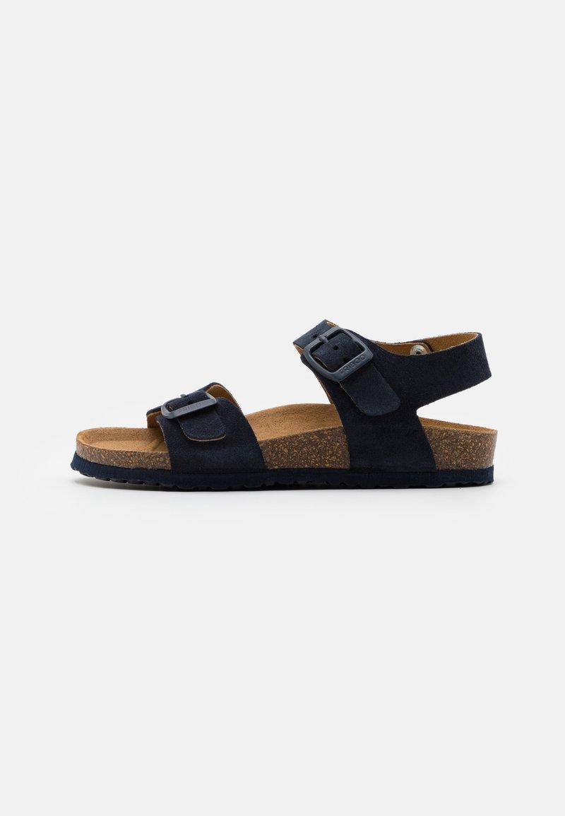 Friboo - LEATHER - Sandals - dark blue