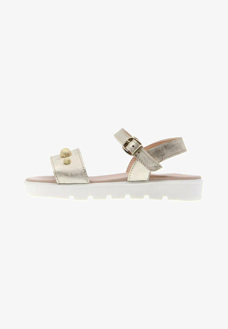 CLARYS - METALIZADA PLATINO - Sandals - oro