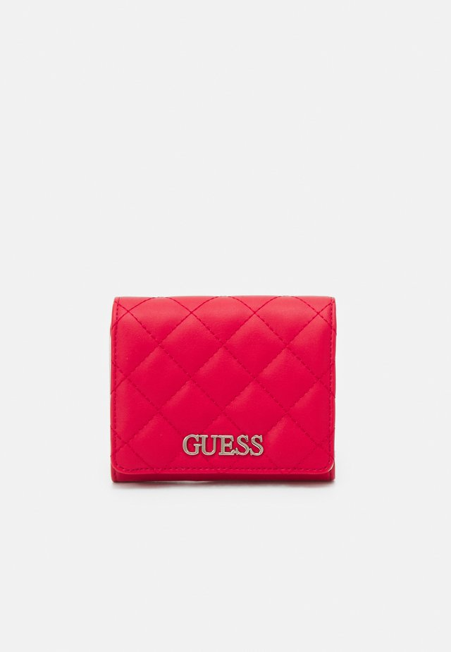 ILLY SMALL TRIFOLD - Wallet - red