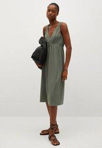 Mango - DOMENICO - Sukienka z dżerseju - kaki - 1