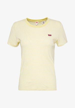 BABY TEE - T-shirt med print - pale banana