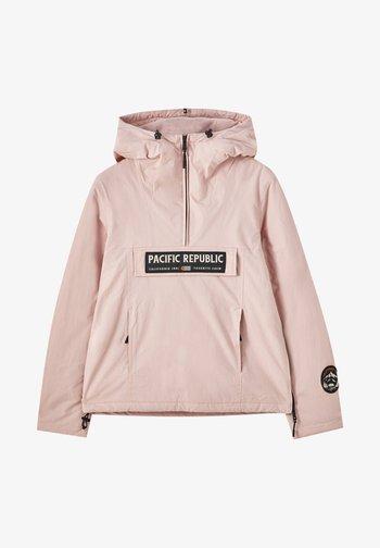 PACIFIC REPUBLIC - Winter jacket - rose