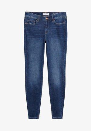 ANDREA - Slim fit jeans - tmavě modrá