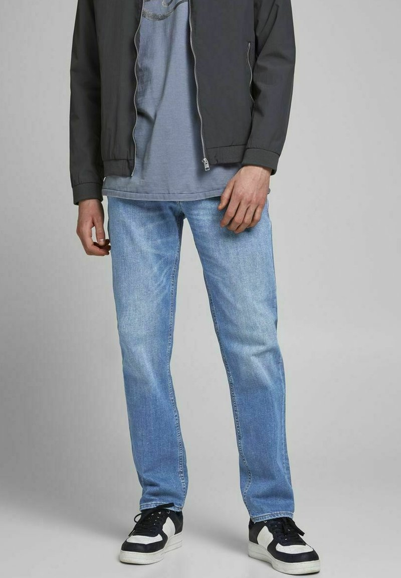 Jack & Jones - CLARK ORIGINAL - Jeans Straight Leg - blue denim