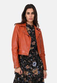 Oakwood - KYOTO  - Kožená bunda - orange - 0