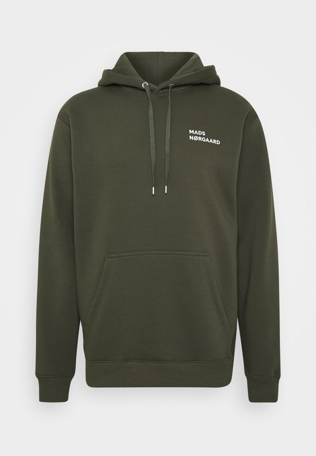 HOODIE LOGO - Sweat à capuche - forest night