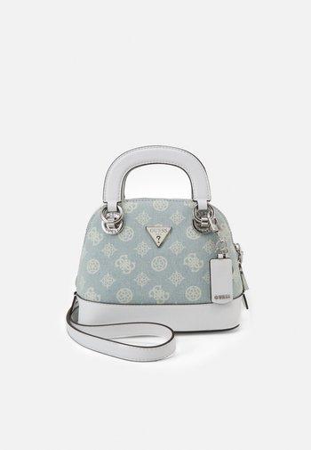 CESSILY SMALL DOME SATCHEL - Handbag - peony