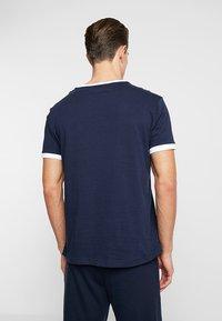 Tommy Hilfiger - TEE LOGO FLAG - Maglia del pigiama - blue - 2
