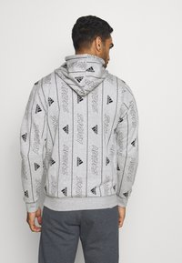 adidas Performance - Hoodie - medium grey heather/black - 2