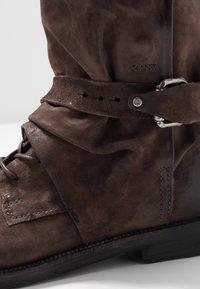 A.S.98 - SAMURAI - Lace-up boots - fondente - 6