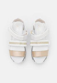 Liu Jo Jeans - MAXI - Platform sandals - white - 5