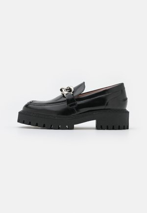 MASTER LOAFER - Slippers - black