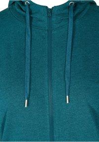 Zizzi - Zip-up hoodie - green - 5