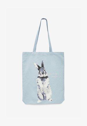 EASTER BUNNY  - Handbag - light blue