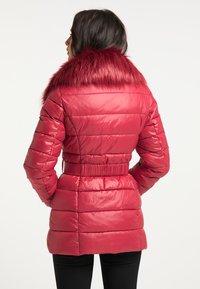 faina - Winter jacket - dunkelrot - 2