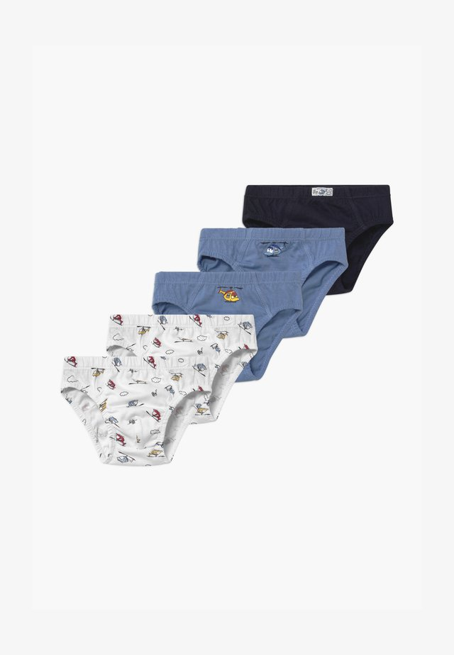 BRIEFS 5 PACK - Alushousut - multicolour