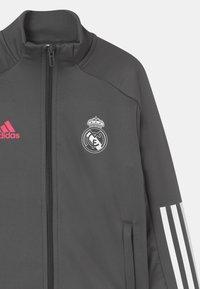 adidas Performance - REAL MADRID FOOTBALL SET UNISEX - Club wear - grey - 3