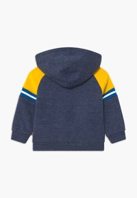Levi's® - COLORBLOCK FULL-ZIP HOODIE - Sweatjakke /Træningstrøjer - dark blue/yellow - 1