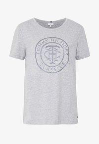 TIARA - Print T-shirt - light grey heather