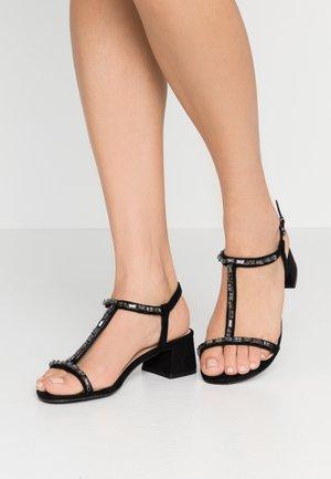 WIDE FIT CHICAGO - Sandals - black