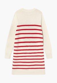 GAP - GIRL - Pletené šaty - ivory frost - 1