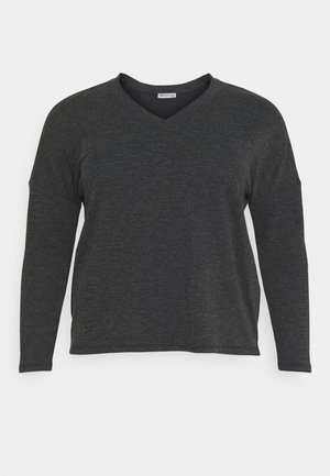 Long sleeved top - mottled grey