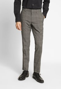 Isaac Dewhirst - CHECK SUIT - Costume - light brown - 4
