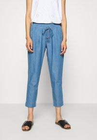 Betty & Co - Trousers - blue denim - 0