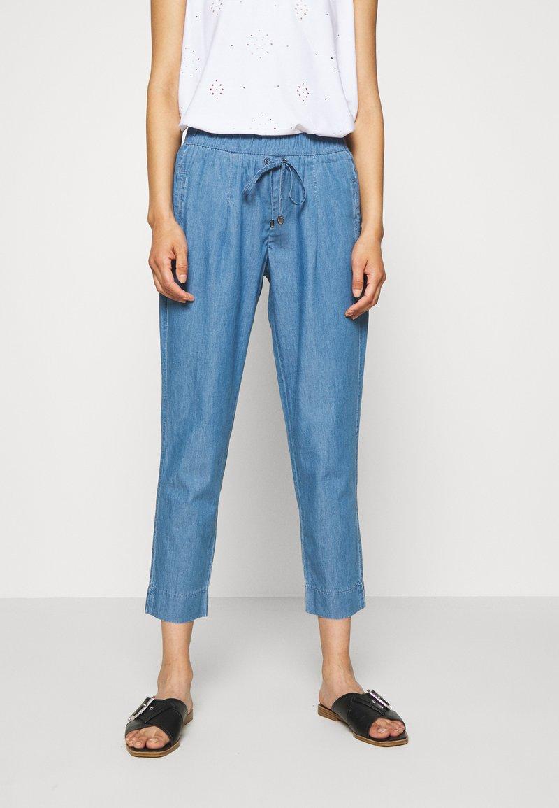 Betty & Co - Trousers - blue denim