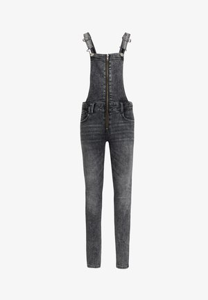 Dungarees - light grey