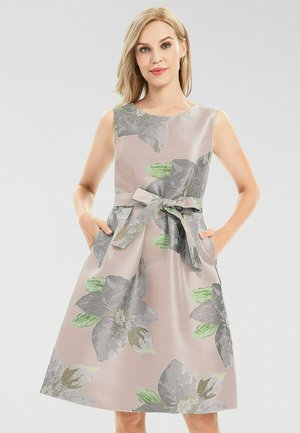 Day dress - mauve-multicolor