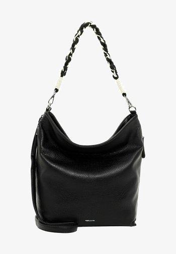 BEUTEL DUNJA - Tote bag - black