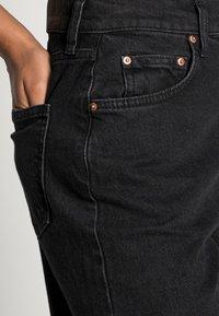 Gina Tricot - COMFY - Straight leg jeans - offblack - 4