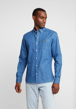 SLIM FIT  - Shirt - light indigo