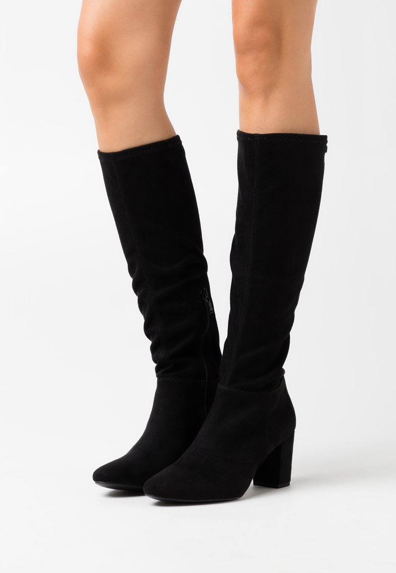 TOM TAILOR - Boots - black