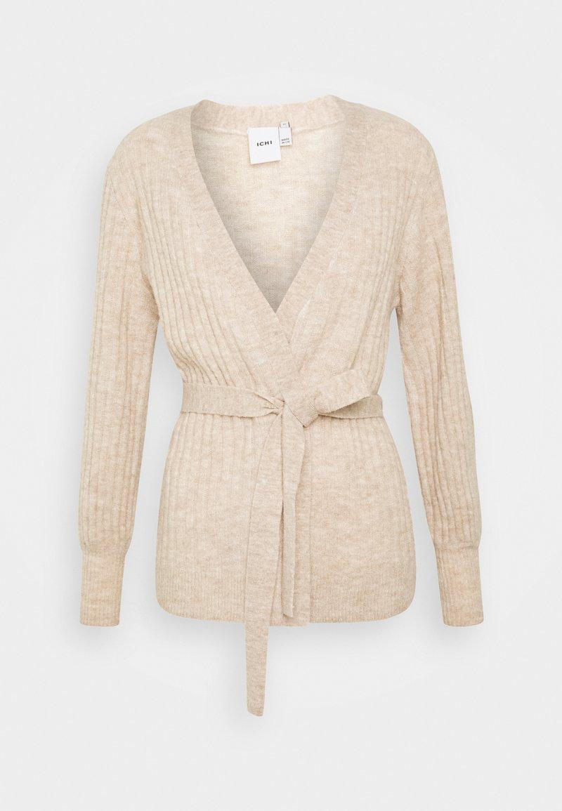ICHI - AMARA  - Cardigan - beige