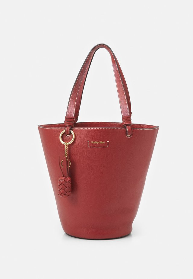 Handbag - faded red
