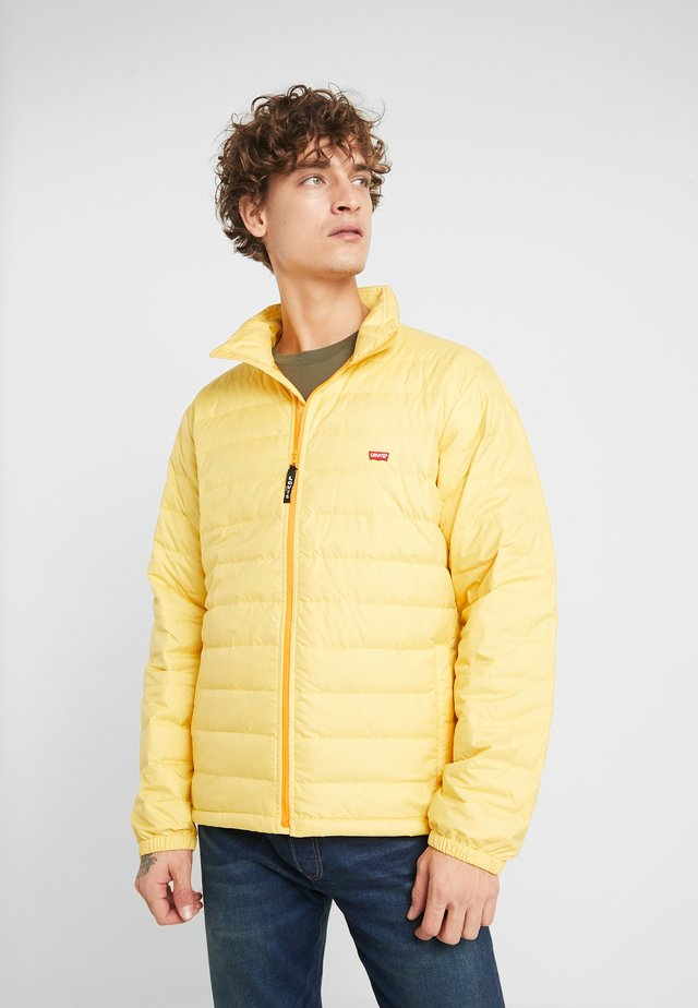 DEHON PUFFER - Down jacket - golden apricot