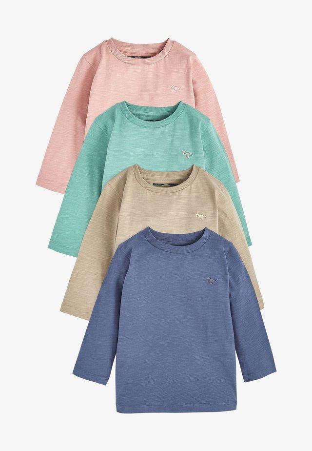 4 PACK - Long sleeved top - blue