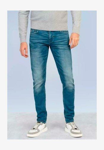 Slim fit jeans - soft mid blue